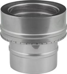 DW-EW Ø 80 mm (80/130) overgang I316L/I304 (D0,5/0,6)