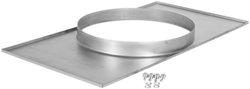 Ruck verloopstuk kanaal/pijp - 500x250 - diameter250 - UKR 5025 01