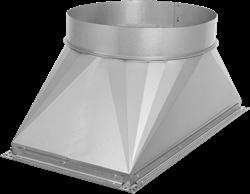 Ruck overgang kanaal/pijp - 500x250 - diameter250 - UKR 5025 02