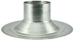 Plakplaat 150 mm - geschikt voor Pijpventilatoren