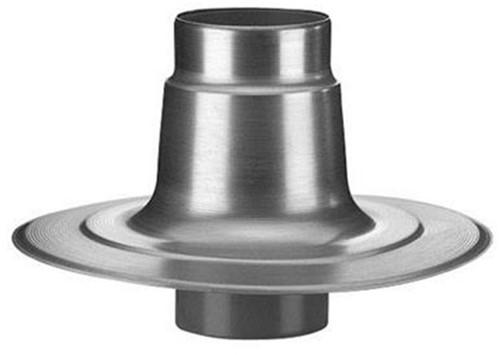 Plakplaat dubbelwandig aluminium 125mm voor ventilator Penn/Savonius