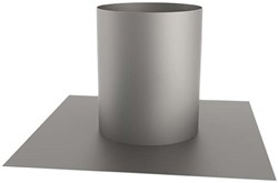 Plakplaat rond 160 mm (170) (sendzimir verzinkt)
