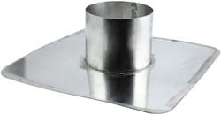 Plakplaat voor WTW Thermoduct dakdoorvoer 125mm