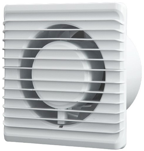 Badkamer ventilator Energiezuinig, Stil en met TIMER diameter 100 ...