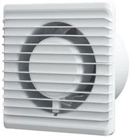 Badkamer ventilator Energiezuinig, Stil en met TIMER diameter 100 mm wit - 100TS