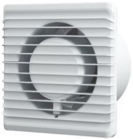 Badkamer ventilator Energiezuinig, Stil en met TIMER diameter 125 mm wit - 125TS