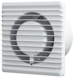 Badkamer ventilator Energiezuinig, Stil met VOCHTSENSOR en TIMER diameter 125 mm wit - 125HS