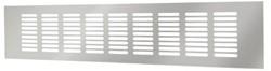 Plintrooster aluminium - zilver L=500mm x H=60mm -RA650S