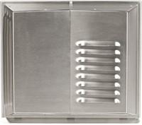 Muurrooster Air 70 RVS 500-600 (incl voorverwarmer)-1