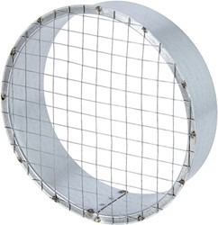 Buisrooster Ø 800 mm met gaas voor spirobuis