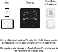Zehnder Stork ComfoAir Q450 WTW unit NL R VV ST + ERV (enthalpiewisselaar)-2