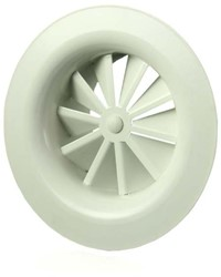 Rond wervelrooster plafond 160 mm metaal