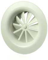 Rond wervelrooster plafond 315 mm metaal-1