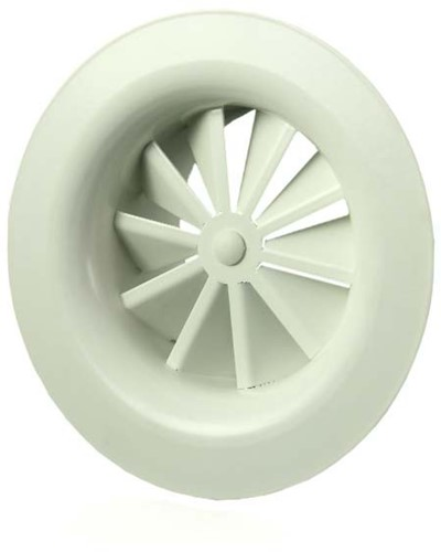 Rond wervelrooster plafond 400 mm metaal