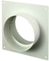 Ronde kunststof muurplaat diameter: 125mm AFS125-1