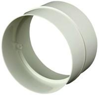 Ronde kunststof verbinding diameter: 100 mm AS100-1