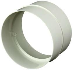 Ronde kunststof verbinding diameter: 100 mm AS100