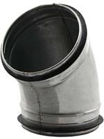 Ronde spiro-SAFE bocht 45° Ø 80mm tbv gegalvaniseerde buis-1