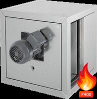 Ruck Rookgasafvoer boxventilator met frequentieregelbare motor en lineaire luchtstroom (MPC DFTI)