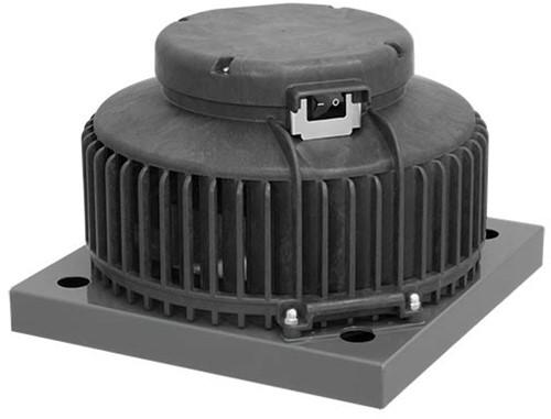 Ruck dakventilator kunststof met werkschakelaar en EC motor 760m³/h - DHA 190 ECP 20