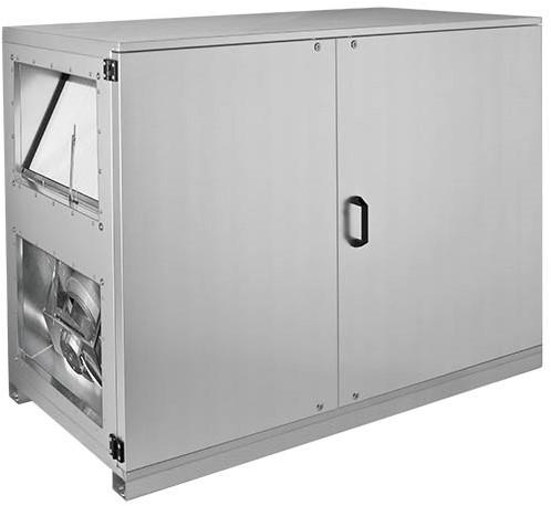 Ruck ETA-H luchtbehandelingskast met WTW en water verwarmer - Horizontale uitblaas rechts - 1500m³/h