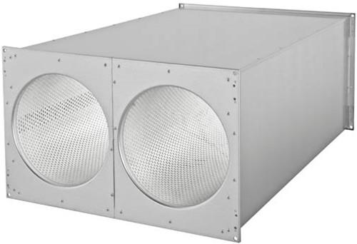 Ruck® kanaal-geluiddemper 800x500 - SDE 8050 L02