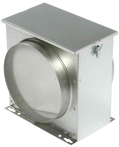 Ruck luchtfilterbox met vliesfilter diameter 150 - FV 150
