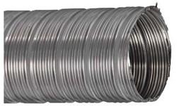 RVS starre flexibele ventilatieslang diameter 80 mm lengte 3 m