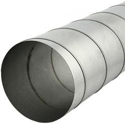 Spirobuis 80 mm L=3000 mm - rond gegalvaniseerd (extra verzendkosten)