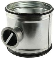 Handbediende regelklep Ø400mm voor spirobuis-1