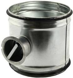 Handbediende regelklep Ø450mm voor spirobuis