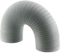Starre witte aluminium ventilatieslang diameter 125 mm lengte 3 meter-1