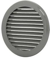 Schoepenrooster diameter: 125mm grijs - VR125P