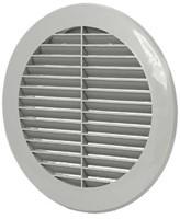 Schoepenrooster diameter: 150mm grijs - VR150P