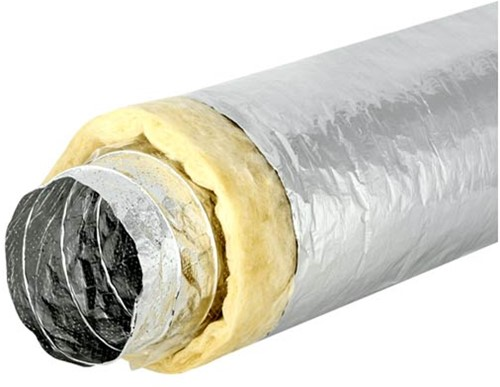 Sonodec akoestisch thermisch 406 mm geïsoleerde ventilatieslang (10 meter)