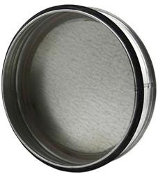 Spiro deksel diameter Ø 125mm tbv gegalvaniseerde buis
