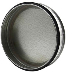 Spiro deksel diameter Ø 500mm tbv gegalvaniseerde buis