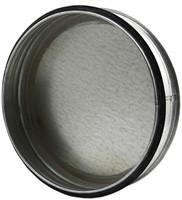 Spiro deksel diameter Ø 80mm tbv gegalvaniseerde buis-1