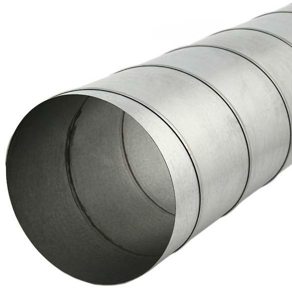 Ongebruikt Spirobuis diameter 150 mm lengte 1.5 meter - rond gegalvaniseerd VN-29