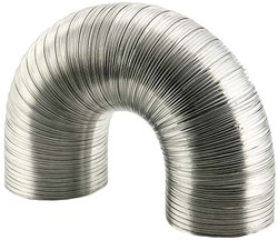 Starre aluminium ventilatieslang diameter 150 mm lengte 1.5 meter
