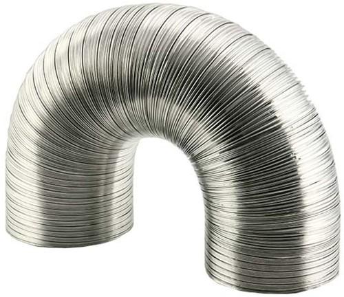 Starre aluminium ventilatieslang diameter 80 mm lengte 1.5 meter