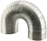 Starre aluminium ventilatieslang rond Ø 100mm lengte 3 meter-1