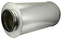 starre ronde geluiddemper diameter: 100 mm lengte 600 mm voor spirobuis-1
