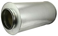 starre ronde geluiddemper diameter: 315 mm lengte 1200 mm voor spirobuis-1