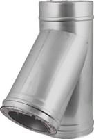 DW diameter  150 mm (150/200) T-stuk T135 I316L/I304 (D0,5/0,6)