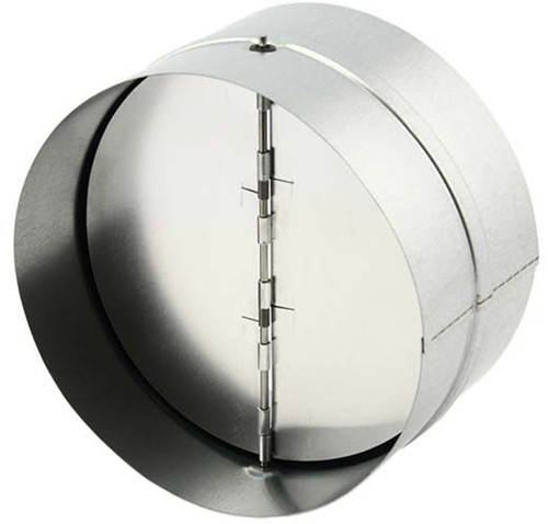 Terugslagklep diameter Ø125mm voor spirobuis
