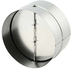 Terugslagklep diameter Ø160mm voor spirobuis