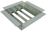 Terugslagklep voor Itho dakventilator CAS voetgrootte 2 - KD 2A-1