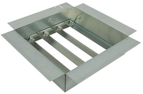 Terugslagklep voor Itho dakventilator CAS voetmaat 2 - KD 2A