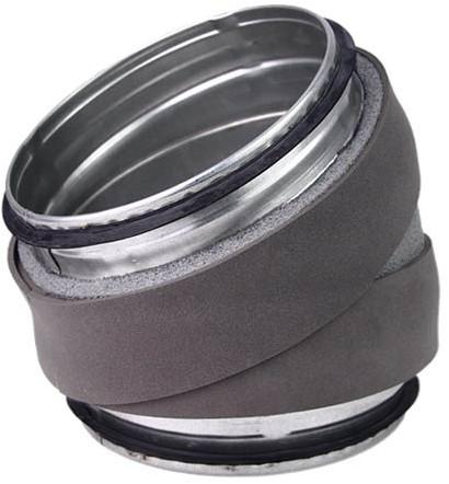 Thermoduct bocht 30 graden diameter 400 mm